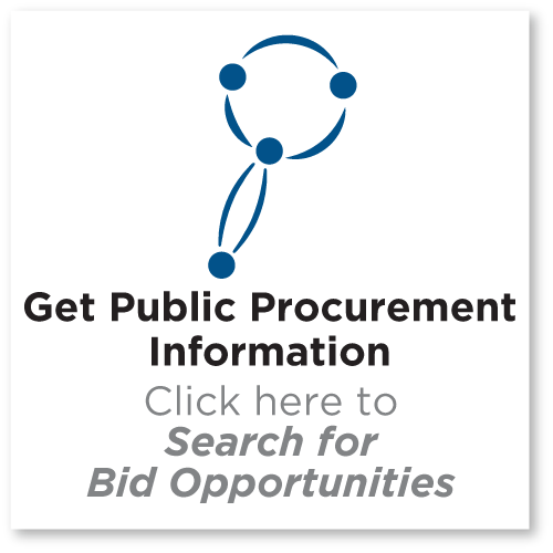 Get Public Procurement information Search for Bid Opportunities and Other Public Information
